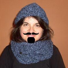 Gros snood tricoté main pour homme...ou femme !