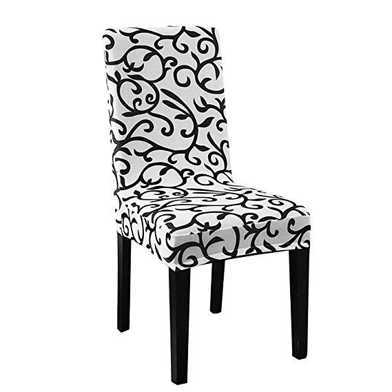 Excellent Uxcell Stretch Washable Short Dining Room Chair Protector Bralicious Painted Fabric Chair Ideas Braliciousco