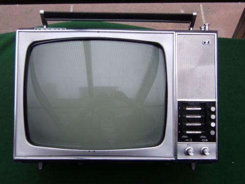 IBERIA, alter, tragbarer Fernseher | eBay