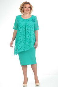 Платье Pretty 390-1 бирюзовый