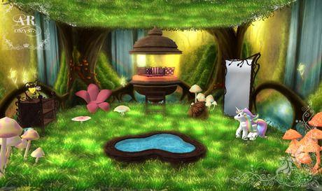 an enchanted forest bedroom design for my little girl i 39 d make