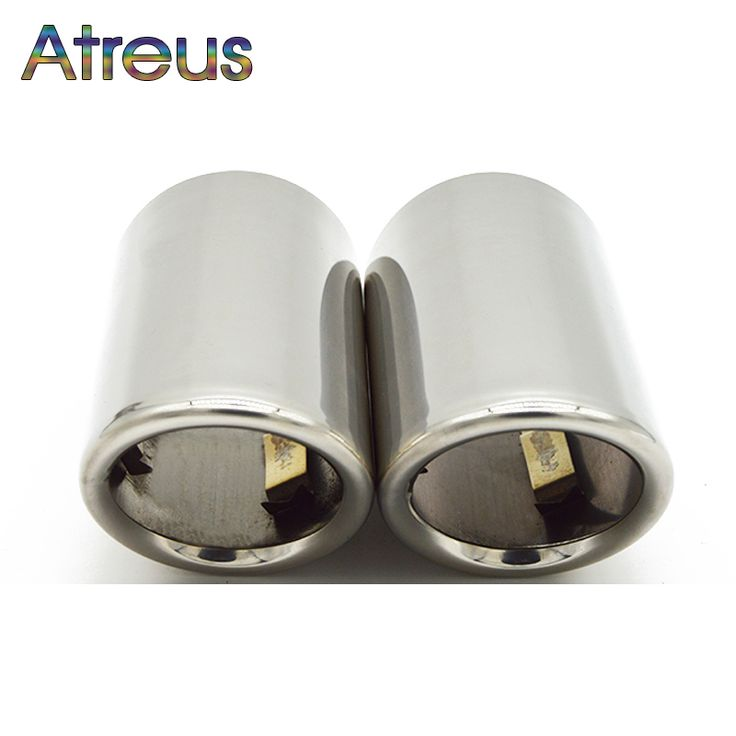 Buy  Atreus Car Exhaust Muffler Tip Pipe Auto Accessories For Volkswagen VW Passat B7 CC Tiguan 2011 2012 2013 2014 2015 2016 2017 ....please Click Link to more Information