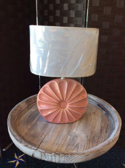 Peach Shell Table Lamp