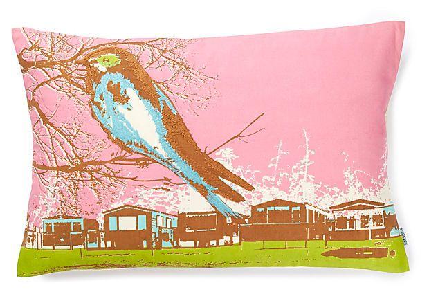 Nesting 13x20 Pillow, Pink