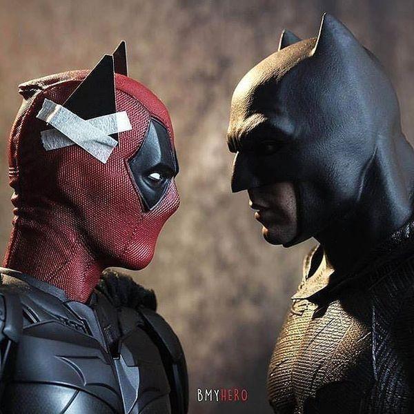 #Deadpool face à #Batman
