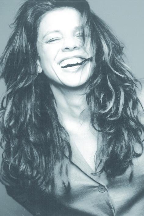 A smiling Leontien van Moorsel for Claudia Sträter, summer 2001.
