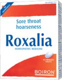Roxalia - Relieves Sore Throat and Hoarseness