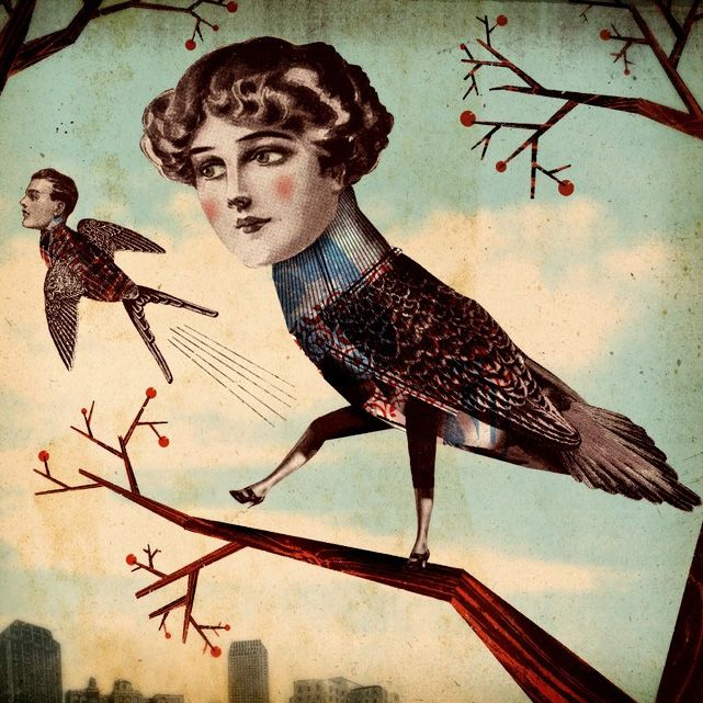 Christian NortheastSurrealismo Explícito, Northeast Woops, Artdesign, Collage Art, Art Design, Birds Flew, Christian Northeast, Awesome Art, Art Illustration