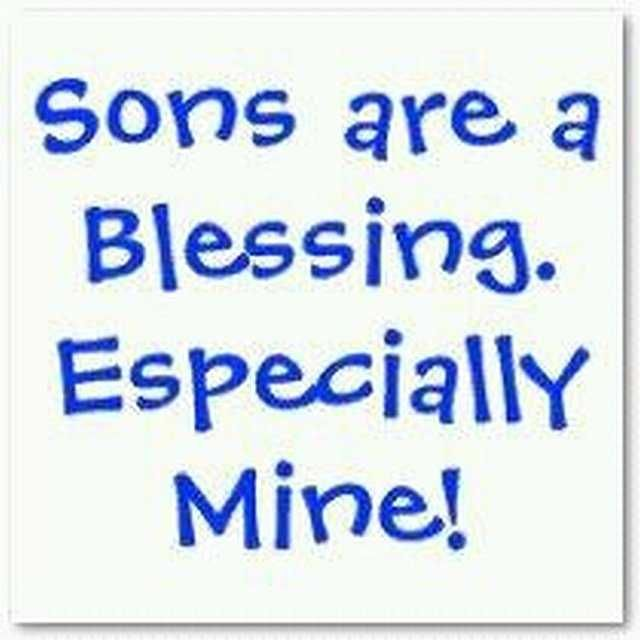 Sons Are A Blessing Es...