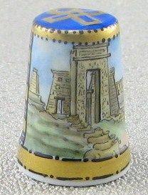 Ägypten & Pharao mit dem Motiv Tempel Karnak in Theben por delante