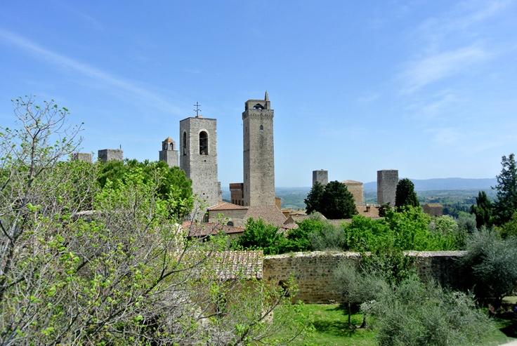 #SanGimignano