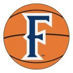 Ncaa California State University Fullerton Orange 2 ft. 3 in. x 2 ft. 3 in. Round Accent Rug