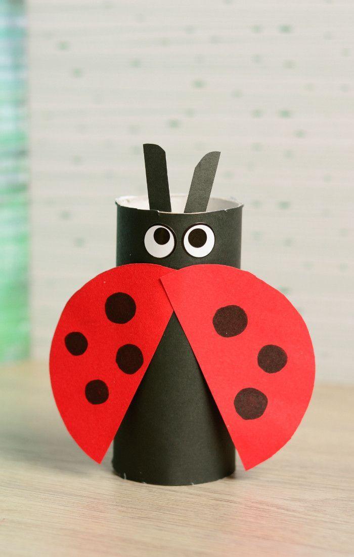 10 petits bricolages de printemps avec les enfants – #avec #bricolages #de #enfa…