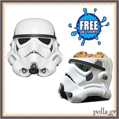Cookie-Jar-Storage-Kitchen-Biscuit-Lid-Star-War-Figures-Collectable-Ceramic-New