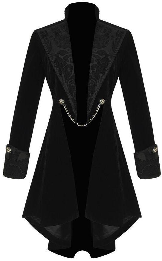 victorian velvet frock coat <3