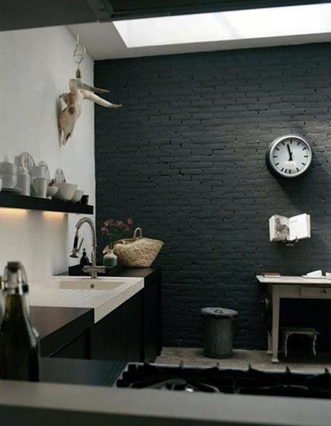 Las 25 mejores ideas sobre paredes de color gris oscuro en for Decoracion piso bajo