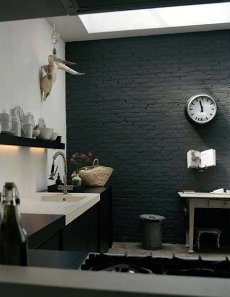 Las 25 mejores ideas sobre paredes de color gris oscuro en for Decoracion piso oscuro