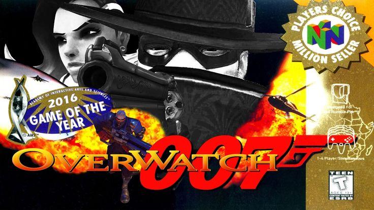 Overwatch 64: 'Overwatch' Redesigned As 'GoldenEye 64' Looks Fun As Heck #overwatch #overwatch64 #goldeneye64 #gaming #videogames #gamers #geek #mashup #viral #retro #classics #nintendo64 #nintendo