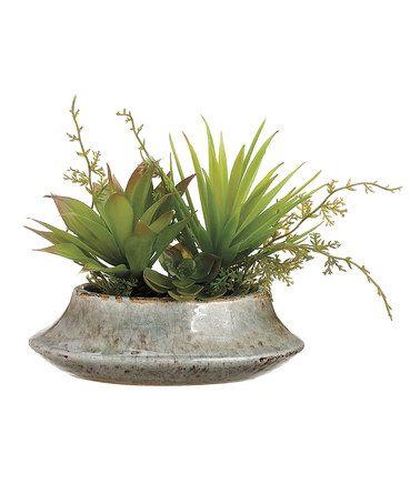 Small Home Garden Pot #zulily #zulilyfinds #decoration #home #south #west #southwest #southwestern #western #midwest #desert #country #farm #succulent #cactus #garden #window #sill #kitchen #herb #mini #terrarium #hipster #mod #anthropologie #apartmenttherapy