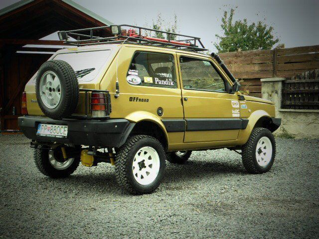 Fiat Panda 4x4. Overland? Why not...