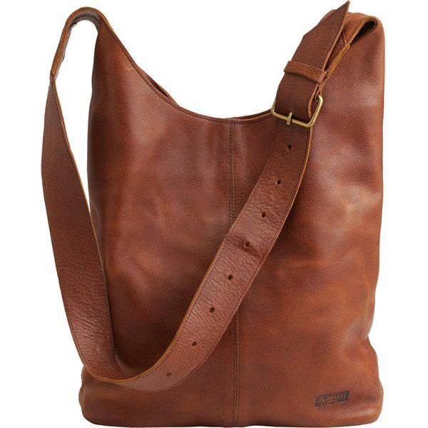 Duluth Trading Women's Lifetime Leather Crossbody Bag