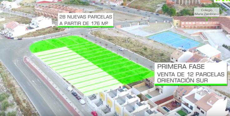 Uso de las nuevas tecnologías, como vistas áreas para la venta de parcelas en Jaén capital