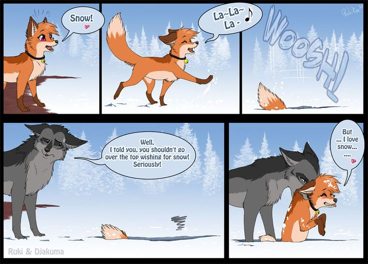 Ruki love snow by RukiFox
