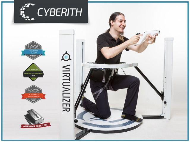Cyberith Virtualizer - Immersive Virtual Reality Gaming by Cyberith — Kickstarter