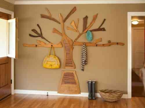 porte manteau arbre pour la chambre enfant