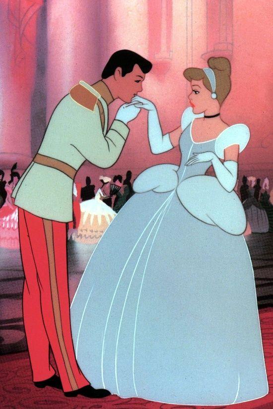 *PRINCE CHARMING & CINDERELLA ~ Cinderella, 1950