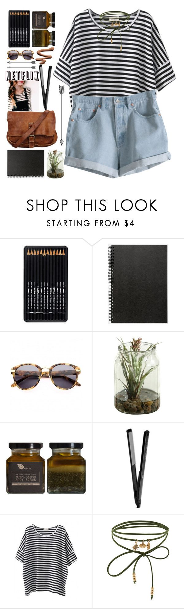 """""""*shorts*"""" by lolalevjesrcna ❤ liked on Polyvore featuring Muji, Alexander Wang, MTWTFSS Weekday, Accessorize and shorts"""
