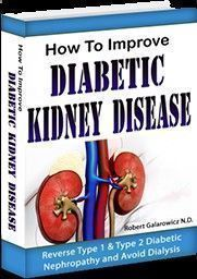 How To Improve Diabetic Kidney Disease Guide PDF. Diabetes runs in my family. My mom, uncle and grandfather had it. When I got diagnosed with type 2 diabetes in my fourties it was no big deal. I should have taken it more seriously, but I didn't. Nineteen years later I was facing dialysis. I can't say enough of what this Diabetic Renal Diet program did for me. I improved from stage 4 to stage 3 kidney disease, and went from a severe diabetic #diabetesnomore #diabeticdiet #diabetesdiet