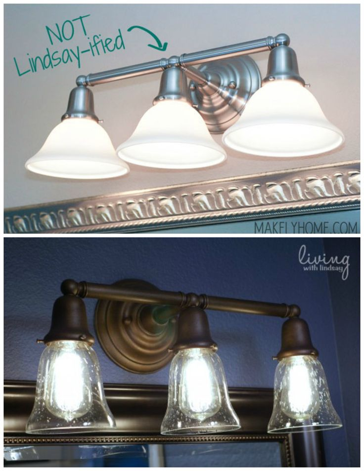 25 best ideas about painting light fixtures on pinterest cheap light fixtures paint light for Painting metal light fixture bathroom