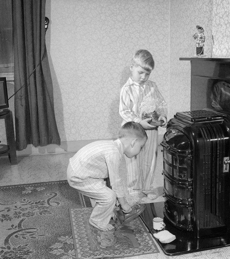 Schoen zetten, Groningen, 1958