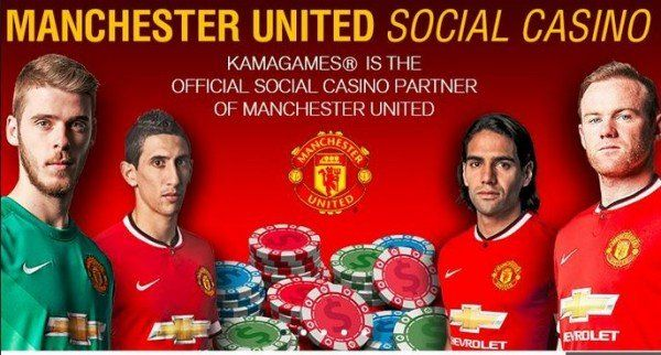 El Manchester United dará nombre a juegos de casino online