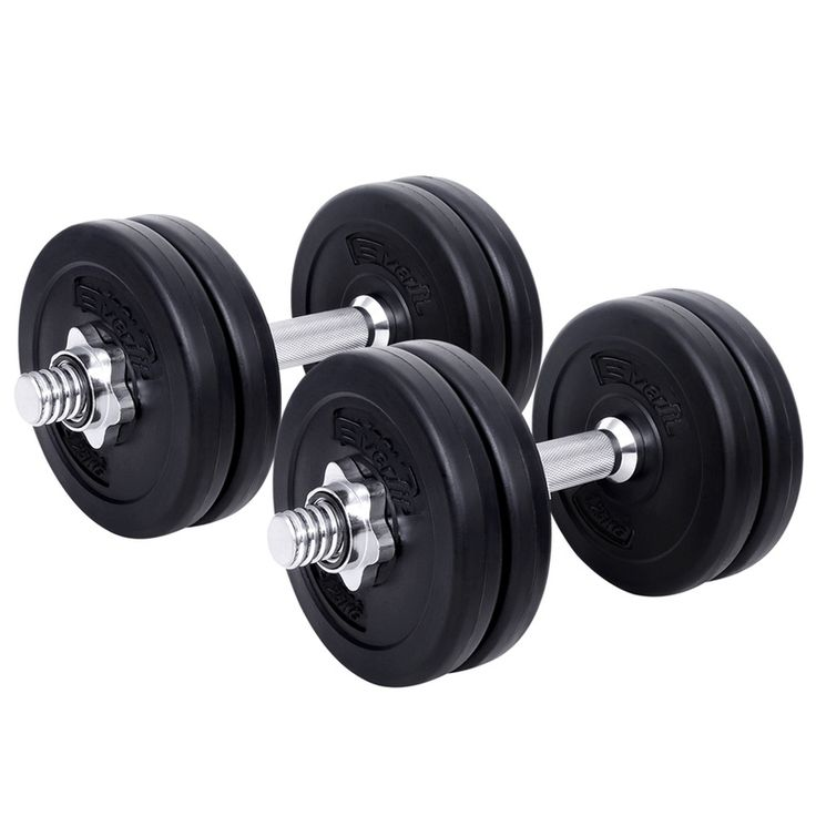 Fitness Gym Exercise Dumbbell Weights Set 15kg | Buy Dumbbells