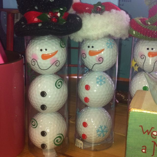 Christmas #golf #balls                                                                                                                                                                                 More
