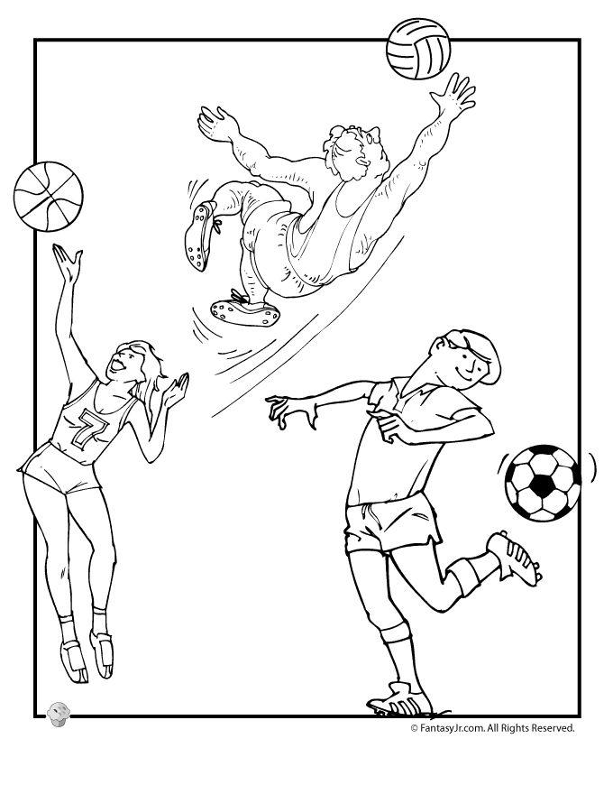 604 best Kleurplaten sport, bewegen, spelen images on Pinterest - new coloring pages ronaldo