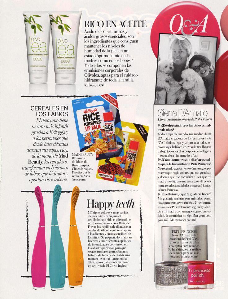 Las revistas más exclusivas recomiendan Olivolea. Nuestras cremas hidratantes mantienen los niveles óptimos de humedad de las pieles más delicadas.