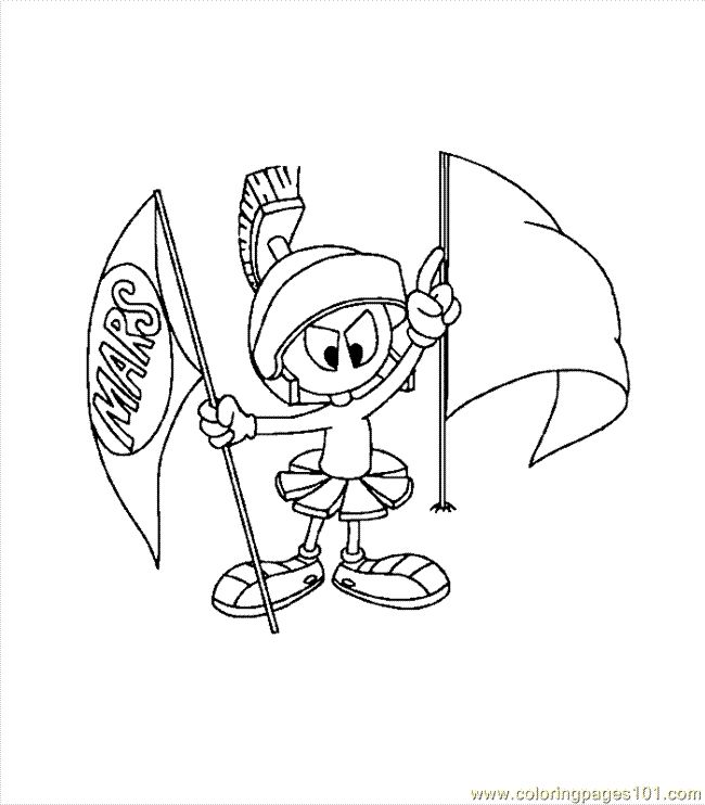 coloring pages marvin the martian 0009 6 cartoons others colorist pinterest - Marvin The Martian Coloring Pages