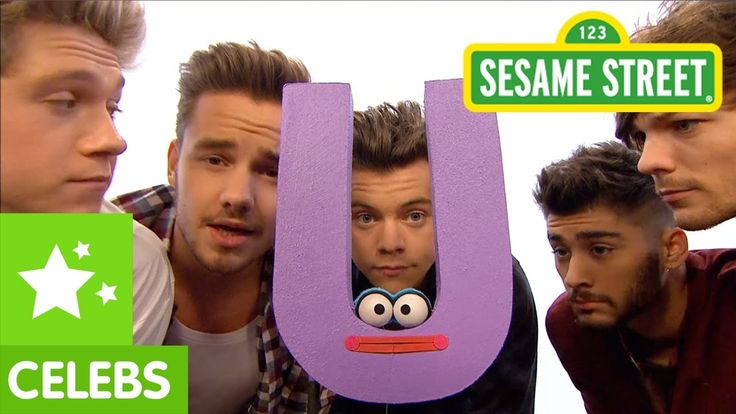 "Sesame Street: One Direction What Makes ""U"" Useful (What Makes You Beautiful) parody"