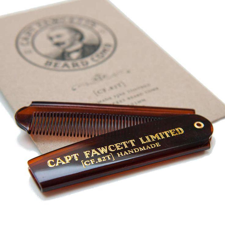 CAPTAIN FAWCETT  Peine para arreglarse la Barba