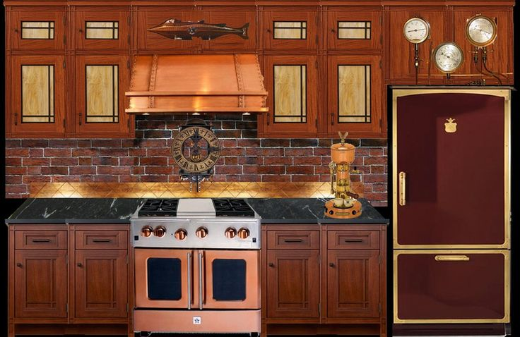 17 best images about steampunk on pinterest stove steam for Kitchen designs steampunk