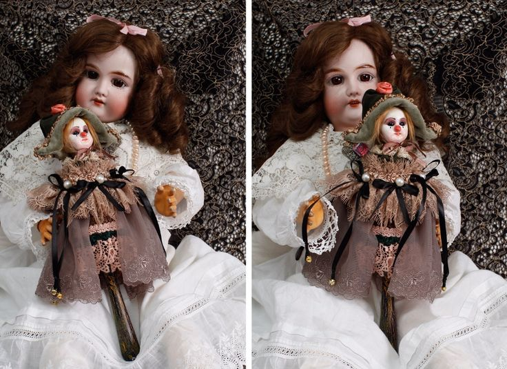 "Marotte ""Старый цирк"" / Антикварные куклы, реплики / Шопик. Продать купить куклу / Бэйбики. Куклы фото. Одежда для кукол"