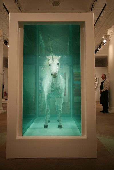 Damian Hirst...dude is nuts and I like it