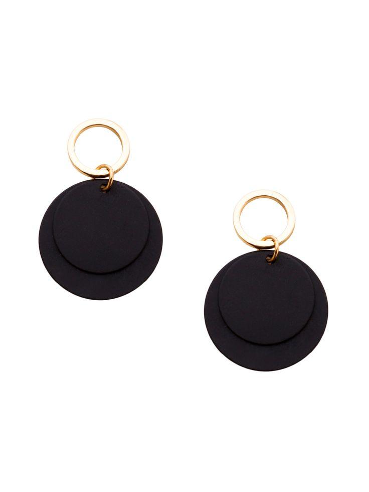 Minimalist #Shein #Alloy #Coin #Earrings