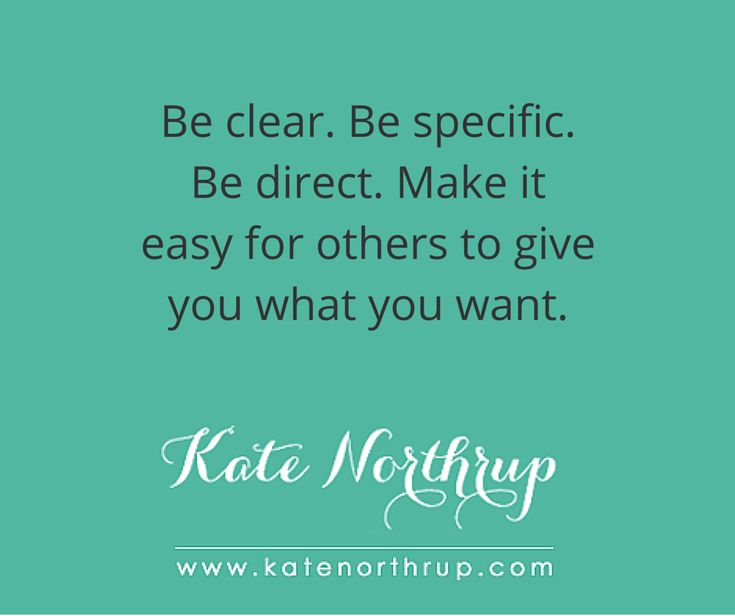 If you do this you'll get what you want. - Kate Northrup Kate Northrup