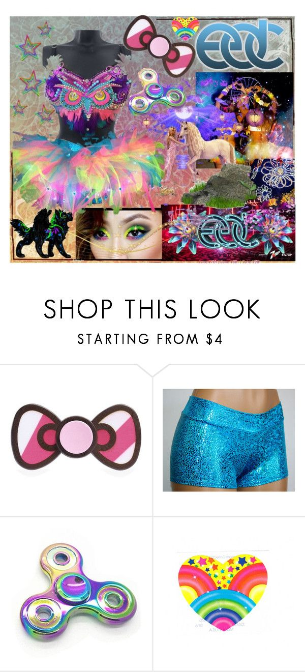"""EDC-2017VEGAS"" by tropical-vegas-finest ❤ liked on Polyvore"