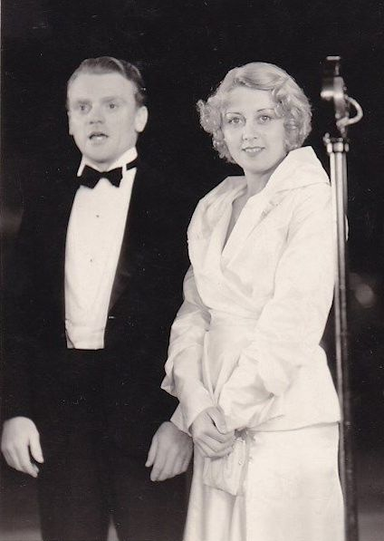 James Cagney and Joan Blondell at the premiere of The Public Enemy, 1931