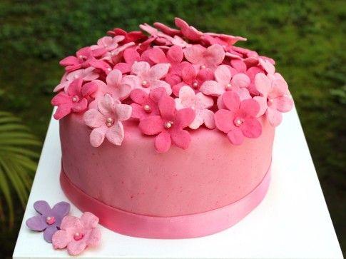 Flores rosas tortas decoradas pinterest for Gradas decoradas